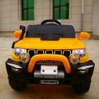 Orange 4x4  Jeep Grand Cherokee 12V Ride-On Kids Car With Remote