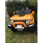 Orange 4x4  Jeep Grand Cherokee 12V Ride-On Kids Car With Remote
