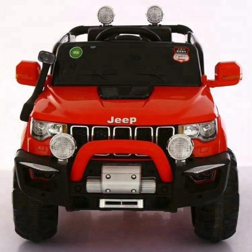 Red 4x4  Jeep Grand Cherokee 12V Ride-On Kids Car with Remote