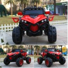 Red 2 Seater  4X4 Monster Buggy Kids Ride on Car