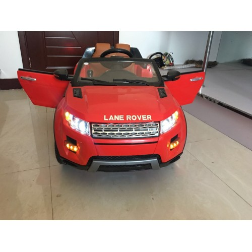 Red 12V Lane Rover 2 Seater Kids Ride on Car