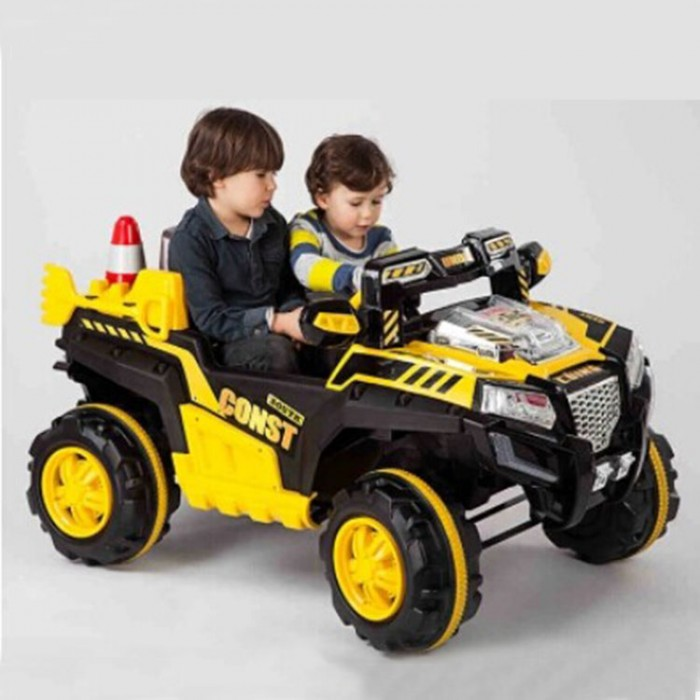 Electric Kids Cars >> Yellow 12v 2 Seater Beach Atv Electric Kids Ride On Car Nabiya