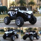 White 2 Seater 4X4 Monster Buggy Kids Ride on Car