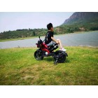 DLS01 Orange 12V Kids Ride on Dirt Motorcycle with Hand Race
