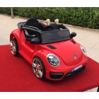 Red 12V Small VW Beetle Style Kids Ride on Car